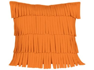 Mamagreen Fringe 21.5'' Wide Square Pillow MMGMG8224