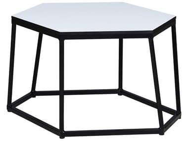 Mamagreen Polygon Aluminum 29''W x 26''D Hexagon End Table MMGMI112