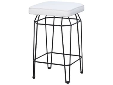 Mamagreen Match Aluminum Cushion Square Counter Stool MMGMI190