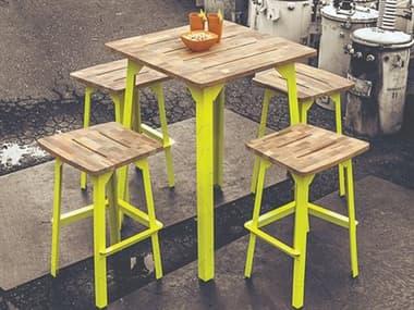 Mamagreen Industrial Aluminum Dining Set MMGMI20SET