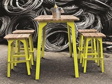 Mamagreen Industrial Aluminum Dining Set MMGMI21SET