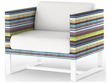 Mamagreen Stripe Aluminum Cushion Lounge Chair MMGMS3