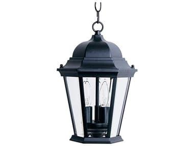 Maxim Lighting Westlake Black Three-Light Outdoor Hanging Light MX1009BK
