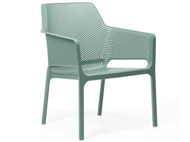 Nardi NET Relax Fiberglass Resin Salice Stackable Lounge Chair NAR40327.04.000