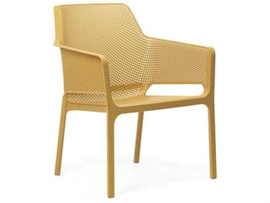 Nardi NET Relax Fiberglass Resin Senape Stackable Lounge Chair NAR4032756000