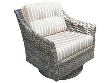 Forever Patio Aberdeen Wicker Rye Swivel Rocker Lounge Chair NCFPABESRRYE