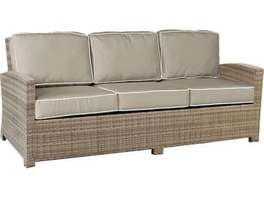 Forever Patio Barbados Wicker Thick Sofa NCFPBAR3S