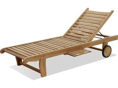 Forever Patio Universal Teak Plantation Adjustable Chaise Lounge NCFPUNIT2030SACLTEAK