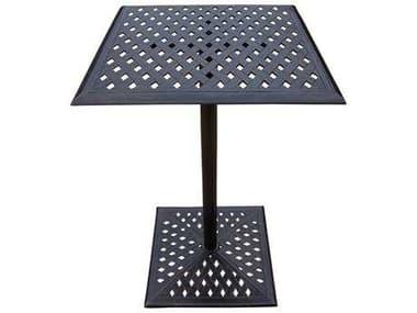 Oakland Living Rose Cast Aluminum 26 Square Bar Table OL3021BT2644AB