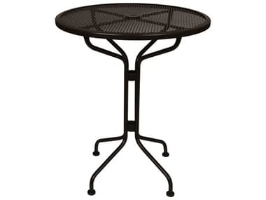 OW Lee Micro Mesh Wrought Iron 30 Round Counter Table OW30MMCT