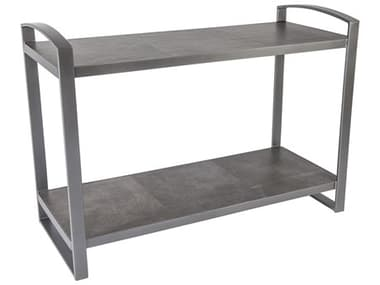 OW Lee Pacifica Wrought Iron 58 x 21.25 Rectangular Entertainment Console OW49ENT2058RT