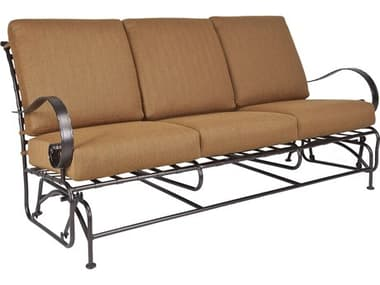 OW Lee Classico Wide Arms Wrought Iron Sofa Glider OW9563GW