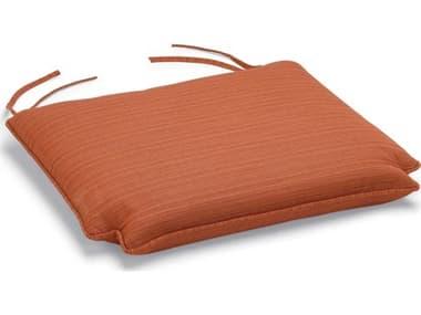 Oxford Garden Sunbrella Dupione Papaya Wexford Armchair Replacement Cushion OXF1WXCHPP