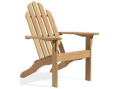 Oxford Garden Oxford Teak Natural Adirondack Chair OXFADCHK