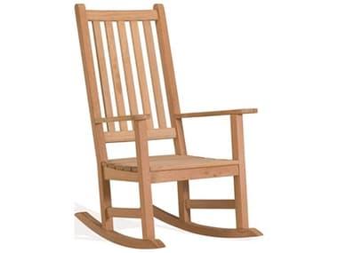 Oxford Garden Classic Teak Natural Rocker Lounge Chair OXFFRCHK