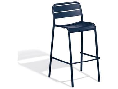 Oxford Garden Kapri Prussian Aluminum Metal Bar Chair OXFKIBCHPC540