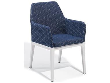Oxford Garden Oland Chalk Aluminum Cushion Dining Chair OXFOLCHQSIPCW