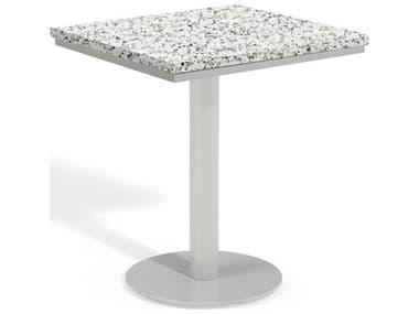 Oxford Garden Travira Aluminum Square Bistro Table OXFTVSTSQUBISTROTABLE