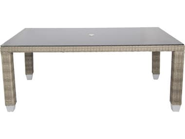 Axcess Inc. Palisades Rectangle Dining Table PAPLIG1T84