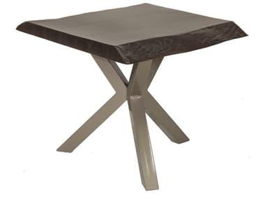 Castelle Altra Aluminum 20W - 22W Square Side Table PFASP20