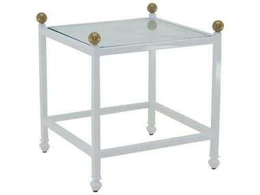 Castelle Barclay Butera Aluminum 20W x 23W Square Side Table PFQSS20