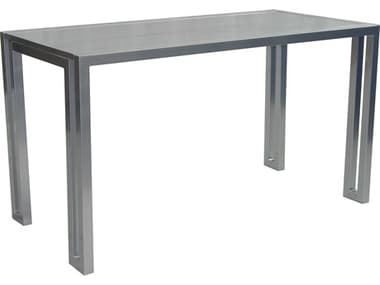 Castelle Icon Cast Aluminum 60 x 32 Rectangular Counter Height Table PFRRE3260