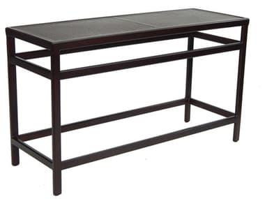 Castelle Classical Cast Aluminum 54-56W x 18-20D Rectangular Console Table PFSRL1854