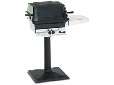 PGS A Series Black 24 Inch Post And Base Kit for A Series Grills PGAMPB