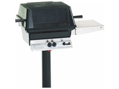 PGS A Series Black Permanent Post Mounting Option For A30 Or A40 Grills. PGAPP