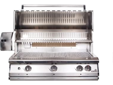 PGS Grills Legacy Pacifica Gourmet 39'' Natural Gas BBQ Grill with Infrared Rotisserie Burner PGS36RNG