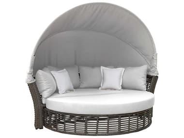 Panama Jack Graphite Wicker Cushion Lounge Bed PJPJO1601GRYCD