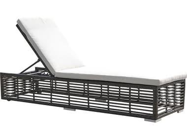 Panama Jack Graphite Wicker Cushion Chaise Lounge PJPJO1601GRYCL