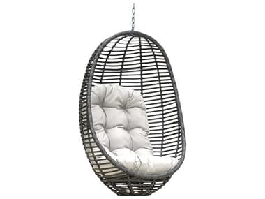 Panama Jack Graphite Wicker Cushion Swing PJPJO1601GRYHC