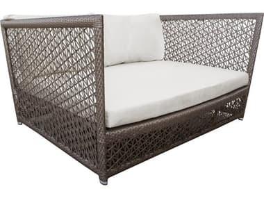 Panama Jack Maldives Wicker Cushion Lounge Bed PJPJO1801GRYDB