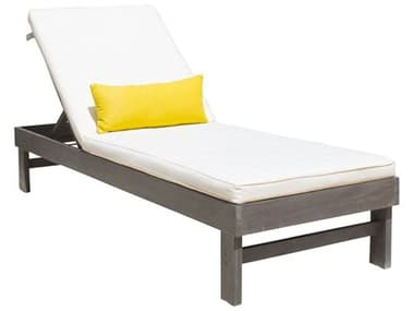 Panama Jack Poolside Aluminum Cushion Chaise Lounge PJPJO2701GRYCL
