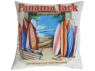 Panama Jack Chairman of The Boards Two Piece Throw Pillow Set PJPJO9001COBTP