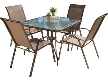 Panama Jack Cafe Steel Dining Set PJPJO9001ESP5DH