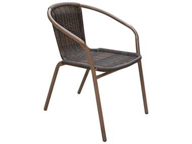Panama Jack Cafe Steel Wicker Dining Chair PJPJO9001ESPACSET4