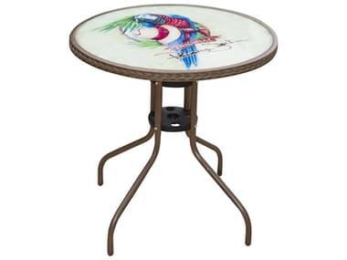 Panama Jack Cafe Steel Round Bistro Table PJPJO9001ESPBTP