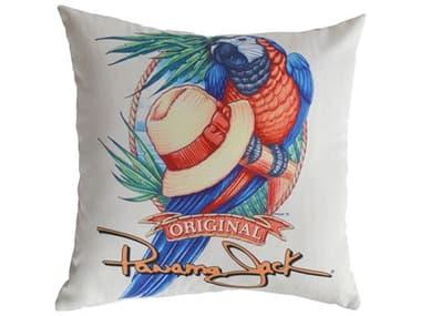 Panama Jack Panama Parrot Two Piece Throw Pillow PJPJO9001PPTP