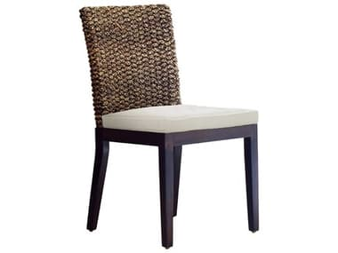 Panama Jack Sunroom Sanibel Wicker Cushion Side Chair PJPJS1001ATQS