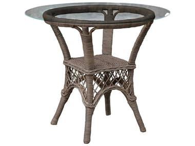 Panama Jack Seaside Wicker Round Dining Table PJPJS1201KBUBGL
