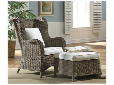Panama Jack Sunroom Exuma Wicker Cushion Lounge Set PJPJS3001KBU2CO
