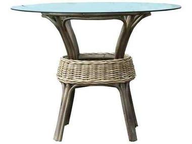 Panama Jack Exuma 48 Round Wicker Dining Table PJPJS3001KBUB