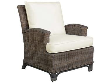 Panama Jack Exuma Wicker Lounge Chair PJPJS3001KBULC