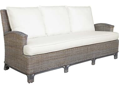 Panama Jack Exuma Wicker Sofa PJPJS3001KBUS