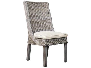 Panama Jack Exuma Wicker Dining Side Chair PJPJS3001KBUSC
