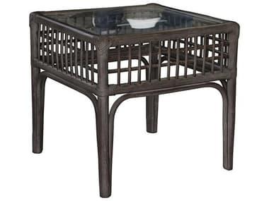 Panama Jack Millbrook 20'' Wide Wicker Square End Table PJPJS7001KBUET