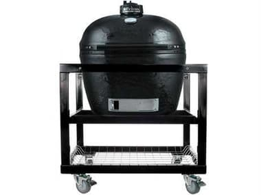Primo Oval (300) Large Stainless Steel Smoker in Cart PM300CART