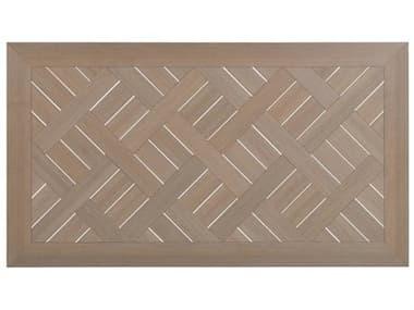 Palm Springs Rattan Sandoval 75''W x 42''D Rectangular PoliSoul Table Top PS01194072TRT